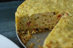 how to make a savory cheesecake | ... the two into a savory, comforting, happy inducing combination
