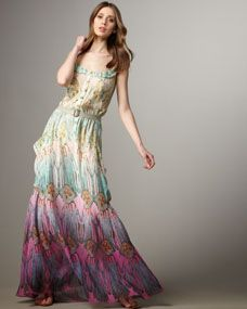 I do like this particular Boho maxi dress