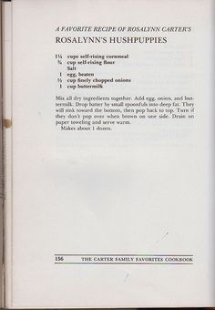 The Carter Family Favorites Cookbook Pg 156 | Flickr - Photo Sharing!