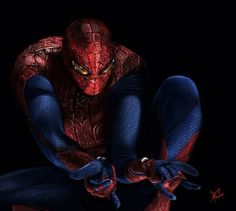 Amazing Spider-man by munkhkhuder