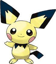 Pichu Pokédex: stats, moves, evolution & locations   Pokémon Database