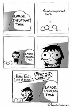 Anybody who's familiar with the comics of Sarah Andersen will know how perfectly they summarize the daily struggles of modern life, especially when it comes to Infj Quotes, Funny Quotes, Funny Memes, Hilarious, Funniest Memes, Funny Gifs, Cute Comics, Funny Comics, Sarah Andersen Comics