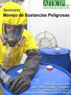 Seminario manejos de sustancias peligrosas, ATCP Chile