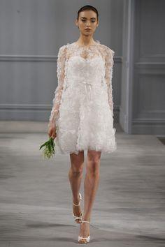 2014 Monique Lhuillier Wedding Dresses Collection | onefabday.com