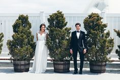 Elegant City Wedding Inspiration | Glam Wedding | Elvira Kalviste Photography | Reverie Gallery Wedding Blog