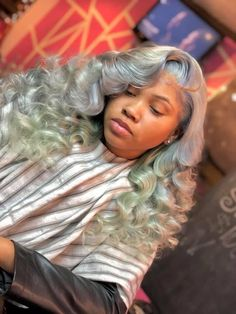 Black Girls Hairstyles, Pretty Hairstyles, Sew In Wig, Natural Hair Styles, Long Hair Styles, Hair Laid, Hair Inspiration, Hair Inspo, Weave Hairstyles