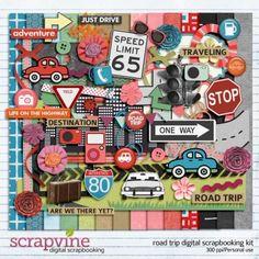 road-trip-digital-scrapbooking-kit