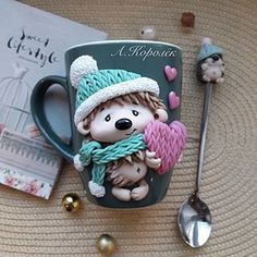 1 million+ Stunning Free Images to Use Anywhere Polymer Clay Cupcake, Cute Polymer Clay, Polymer Clay Dolls, Polymer Clay Projects, Polymer Clay Creations, Handmade Polymer Clay, Clay Mugs, Ceramic Clay, Polymer Clay Christmas