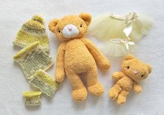 Clothing for toys Dress up Toy Toy Bear Stuffed Toy Animal