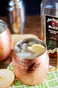 Cider, Ginger and Bourbon Cocktail {Northern Spy} - Healthy. Delicious.