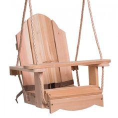HP Swings Classic Kiddie Red Cedar Children Wood Swing
