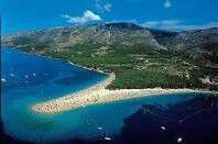 Zlatni Rat em Bol, Splitsko-Dalmatinska Županija - Zlatni Rat Beach