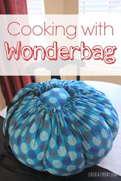 Cooking with Wonderbag