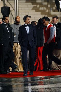 "Robert Downey Jr. on the Disney Hall location of ""Iron Man."""