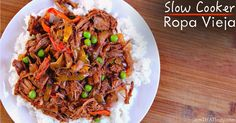 Slow Cooker Ropa Vieja - I am THAT Lady