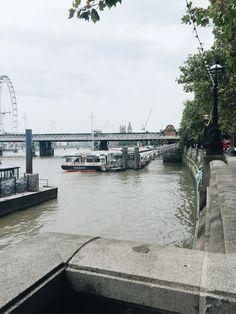 River Thames, London // Weekend Scenes: August 22nd & 23rd — Sea of Atlas