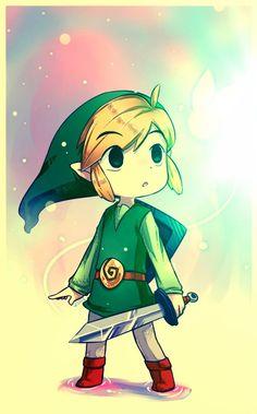 OOH MY CUTENESS...  Link looks so cute CCX