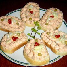 Liptovská pomazánka a liptovský chlebíček podle bývalé ČSN