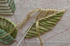 Anna Scott: Manta puntada hojas - primera parte