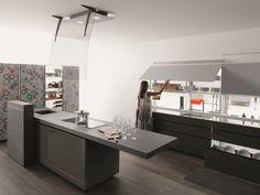 Cucina Componibile Con Isola NEW LOGICA SYSTEM | ARTEMATICA VITRUM Linea  Artematica By VALCUCINE | Design