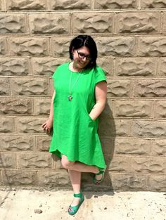 Fat Guy in a Little Coat and My New Green Dress – Shelbee On the Edge
