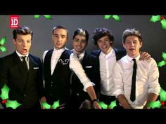 MERRY CHRISTMAS FROM ONE DIRECTION!