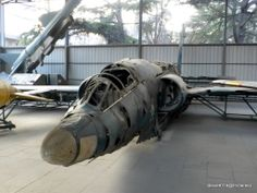 The wreckage of the U.S. U-2 High-altitude aircraft (1962) @ Beijing, China