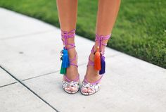 Song of Style: Tassels on My Feet - Jimmy Choo