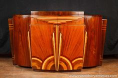 Stunning Art Deco style Marquetry Inlay Sideboard