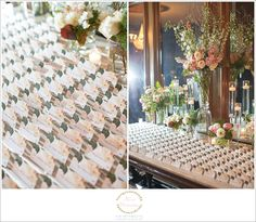 AMAZING escort card display! Two Maries Wedding Photography- Athletic Club of Columbus Wedding (20)