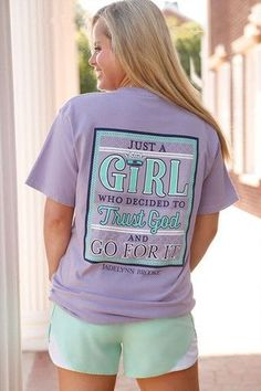 With faith anything is possible, our girls at JadeLynn Brooke nailed it with this tee!