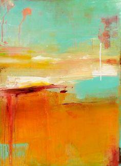 SUGAR BAY abstract art by Erin AShley