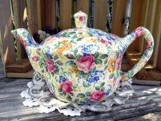 Antique James Kent LTD Rosalynde Old Chintz Tea Pot Teapot England 11097 on Etsy, $375.00