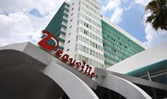 MiMo Architecture  - Deauville Hotel, 6701 Collins Ave., North Beach Resort Historic District (Miami Beach, Florida)