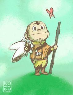 Cute Aang :3