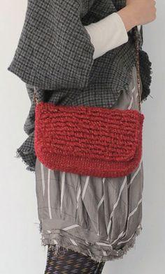 【楽天市場】作品♪作品♪ 211w-13ループ編みのバッグ:【毛糸 ピエロ】 メーカー直販店