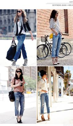 Boyfriend Jeans + Heels | Brunch at Saks