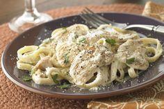 Φετουτσίνι+με+κοτόπουλο+σε+σάλτσα+τυριού+Αλφρέντο