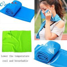 May 31 Mosunx Business Cold Sensation Beach towel Drying Travel Sports Swiming Bath body TowelYoga Mat