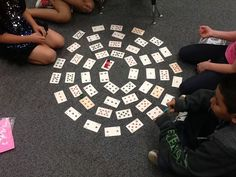 Mrs. Patton's Patch: Spiral Multiplication... a Favorite Game of the Year