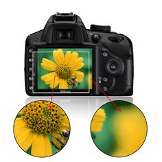 New Tempered Glass Film Camera LCD Screen Protector for Nikon D3100/D3200/D3300 Wholesale