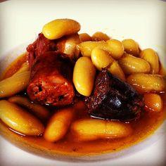 Fabada de #nachomanzano  La Salgar  Asturias #gastronomia