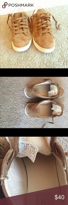 Ugg women's lace up shoes size 8 Chestnut women's Ugg Tomi. Size 8. Never worn Shoes Sneakers