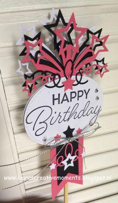 """Birthday Blast"" and the ""Star Blast Edgelits Dies"", Stampin' Up! - Happy Birthday!"