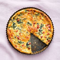 A healthier WW recipe for Crustless quiche ready in just Get the SmartPoints value plus browse other delicious recipes today! Quiche Recipes, Ww Recipes, Light Recipes, Healthy Recipes, Delicious Recipes, Good Food, Yummy Food, Ham And Cheese, Recipe Today