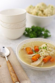 MATZO BALL SOUP ----- You cannot celebrate Pesach without Matzo Ball ...
