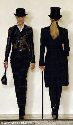 469dc05e0f2 Ralph Lauren shows a very English-inspired collection . Tweeds