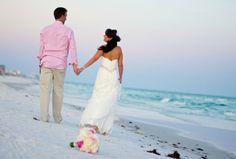 Real Destin Beach Weddings: Millisa and James