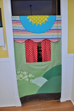 Made to Order Doorway Puppet Theater by GracieFrancesDesign, $65.00