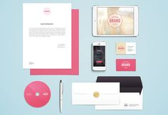 This is the volume 4 of thebranding mockup series released by GraphicBurger. Another great PSD file that you can download for free!